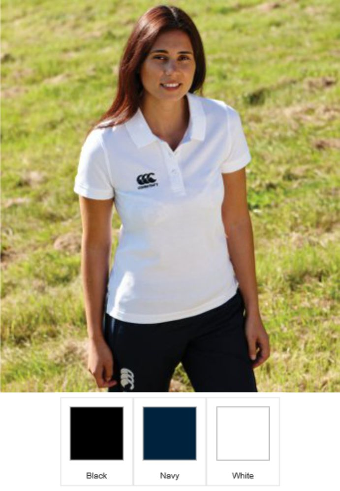 Canterbury CN220F Ladies Waimak Pique Polo Shirt