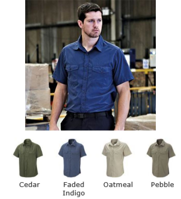 Craghopper CR014 Kiwi Short Sleeve Shirt