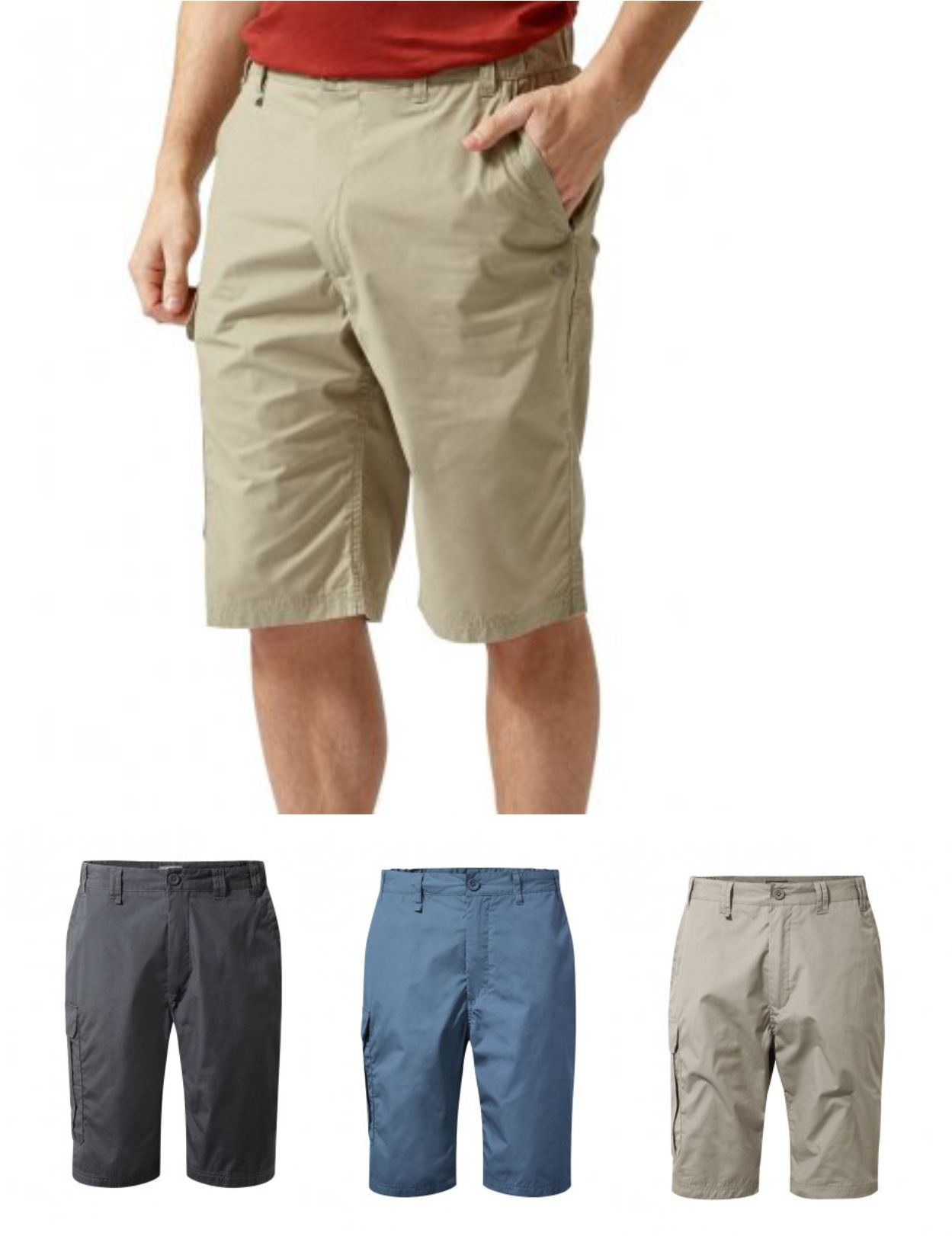 Craghoppers CR222 Ladies Kiwi Stretch III Shorts