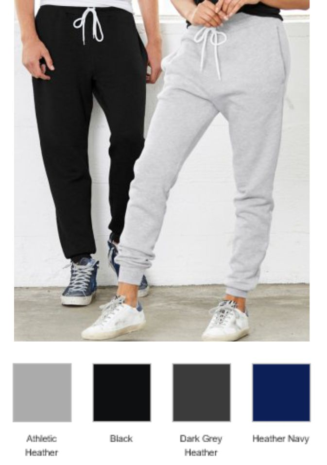 CV3727 BellaCanvas Unisex Jogger Sweatpants