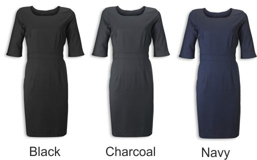 NF708 Cadenza 3/4 length Sleeve Dress