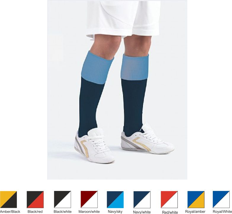 Medallion High Performance Junior Contrast Sports Socks