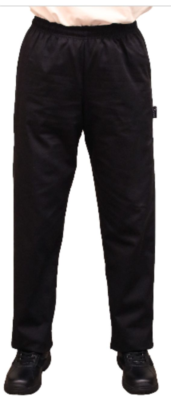 DC20 Elasticated Chef's Trousers Without Pockets