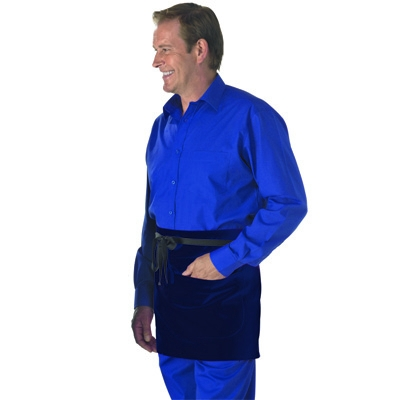 DP37CN Low Cost short bar apron with pockets
