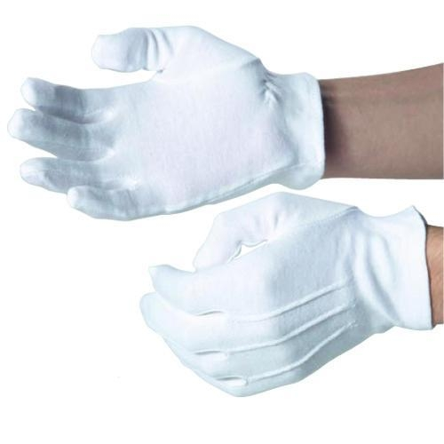 DW35A Elastic cuff Cotton Gloves
