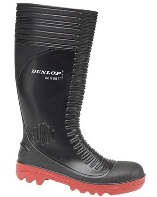 Dunlop Acifort Ribbed Full Safety A252931 Wellington