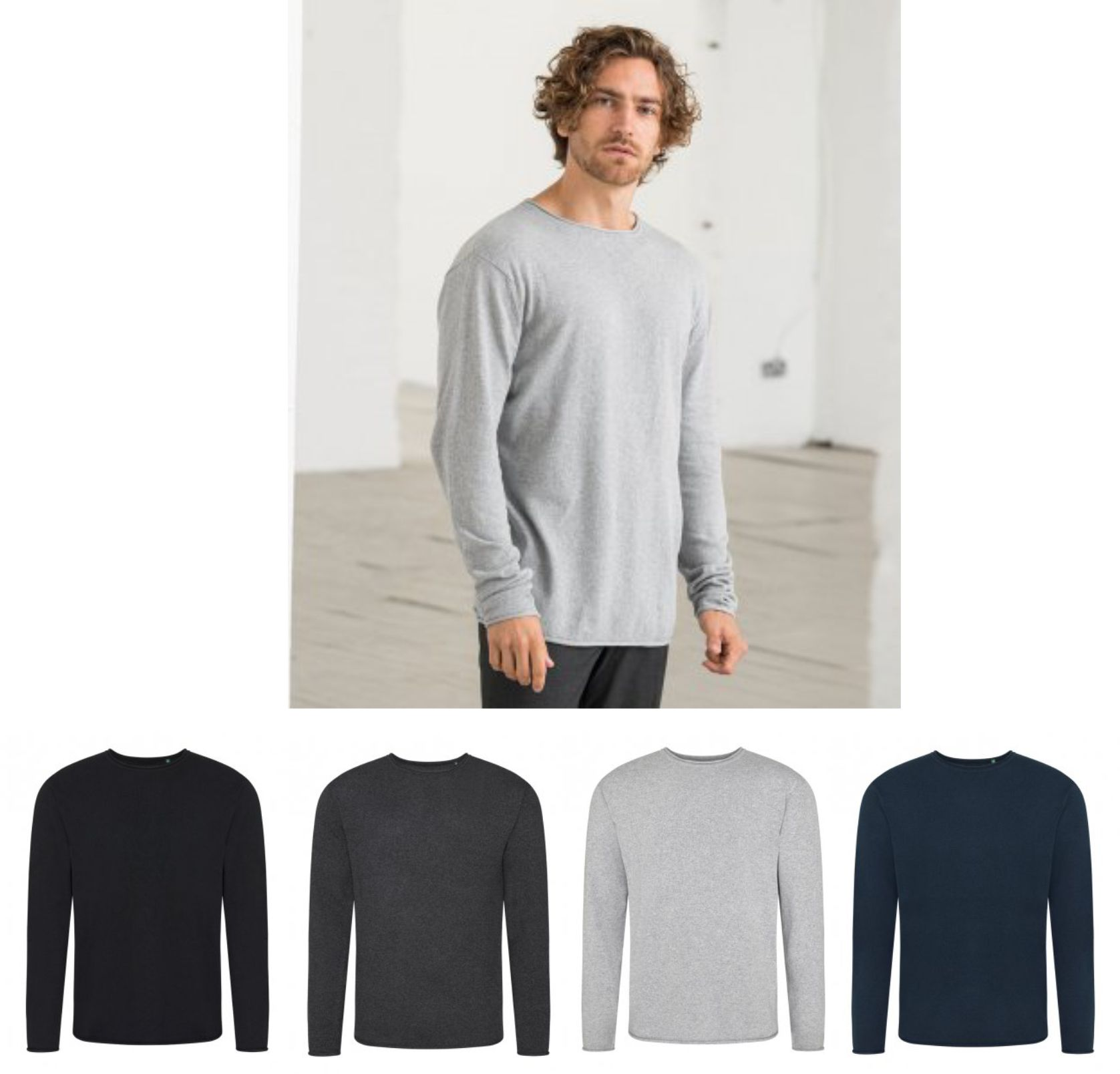 EA060 Ecologie by AWD Arenal Lightweight Sweater