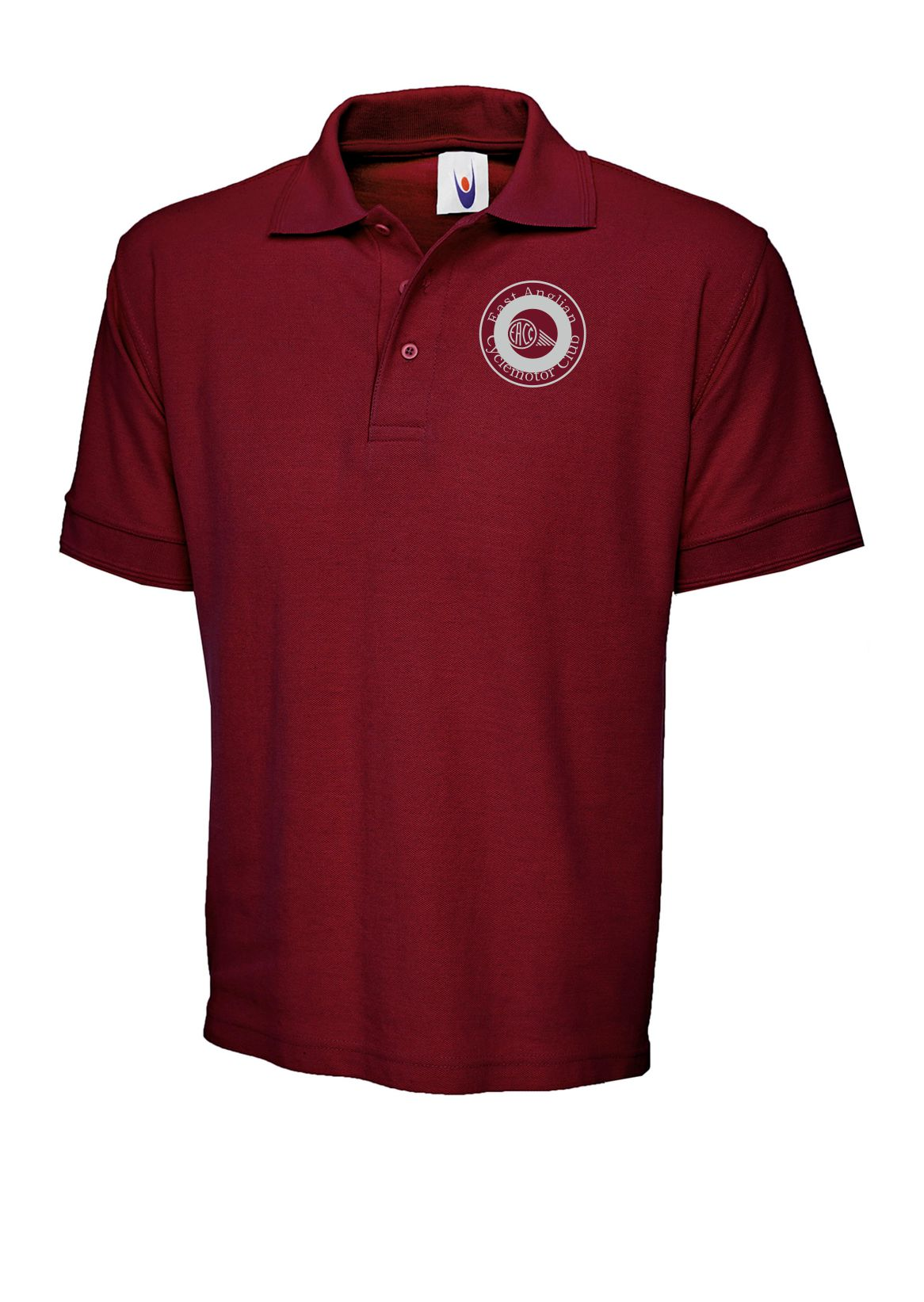 East Anglia Cyclemotor Club polo shirt
