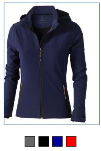Elevate EL033M Ladies Langley Softshell Jacket