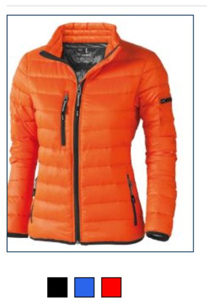 Elevate EL043M Ladies Scotia Light Down Jacket
