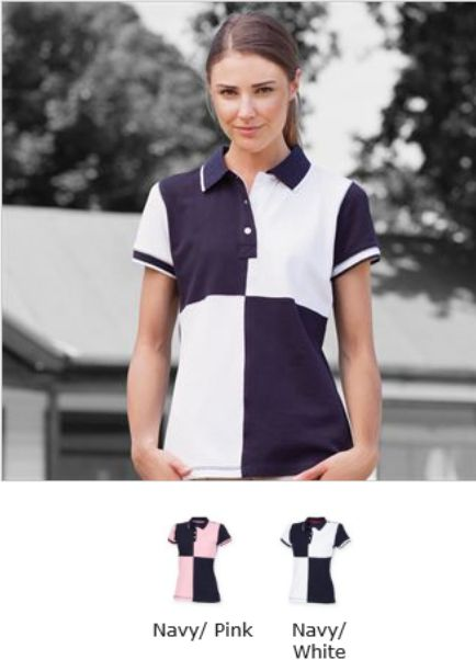 Front Row FR215 Ladies Quartered House Polo