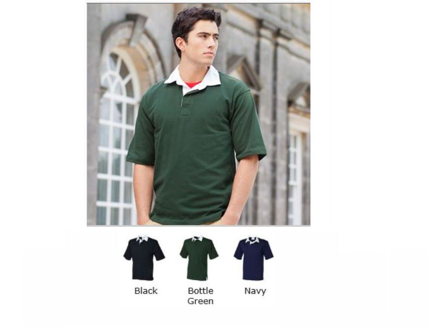 Front Row FR3 short sleeve rugby shirt