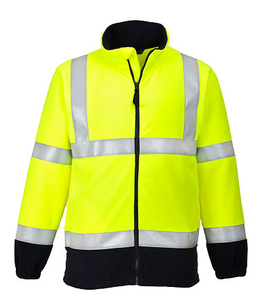 FR31 FR Anti Static Hi Vis Fleece