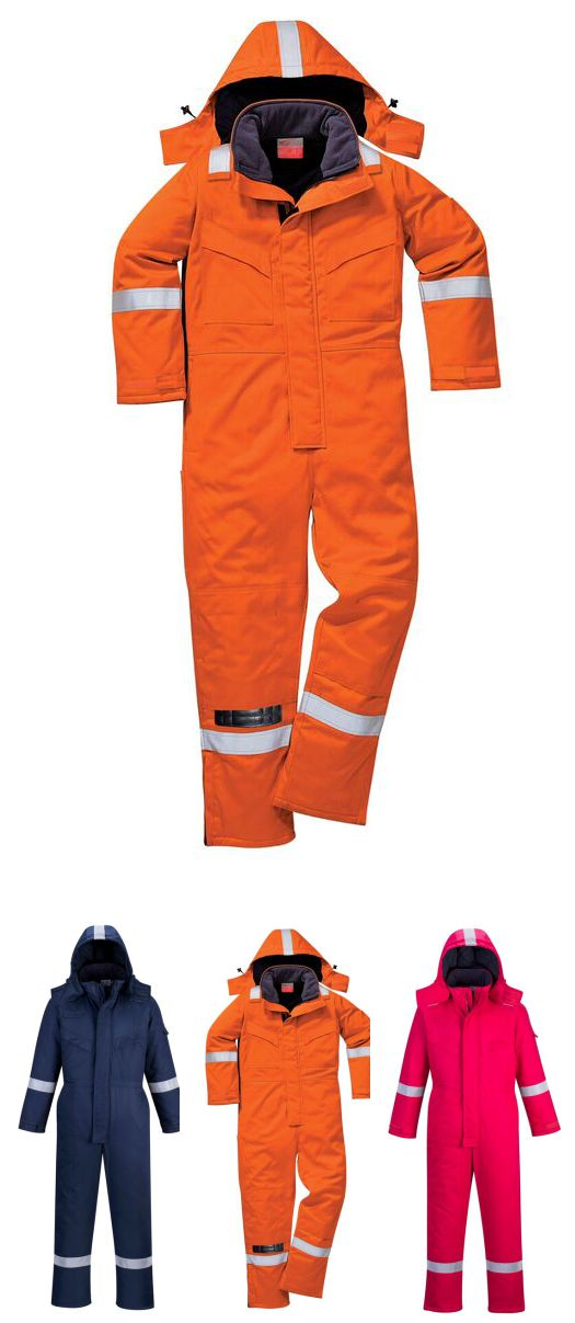 FR53 FR Anti-Static Winter Coverall