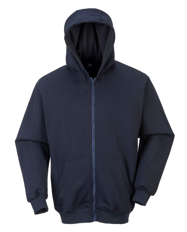 FR81 FR Zip Front Hooded Sweatshirt