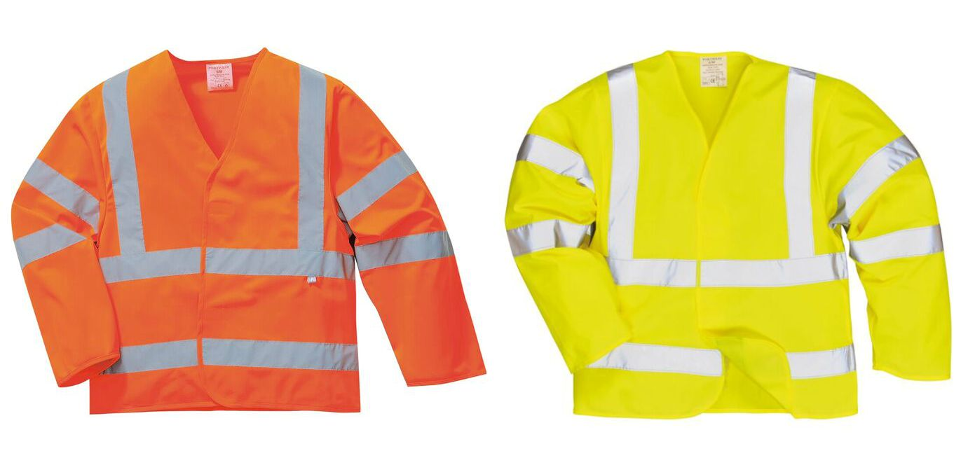 FR85 Hi Vis AntiStatic Flame Resistant Jacket