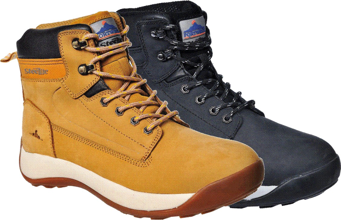 FW32 Steelite Constructo Nubuck Safety Boot S3