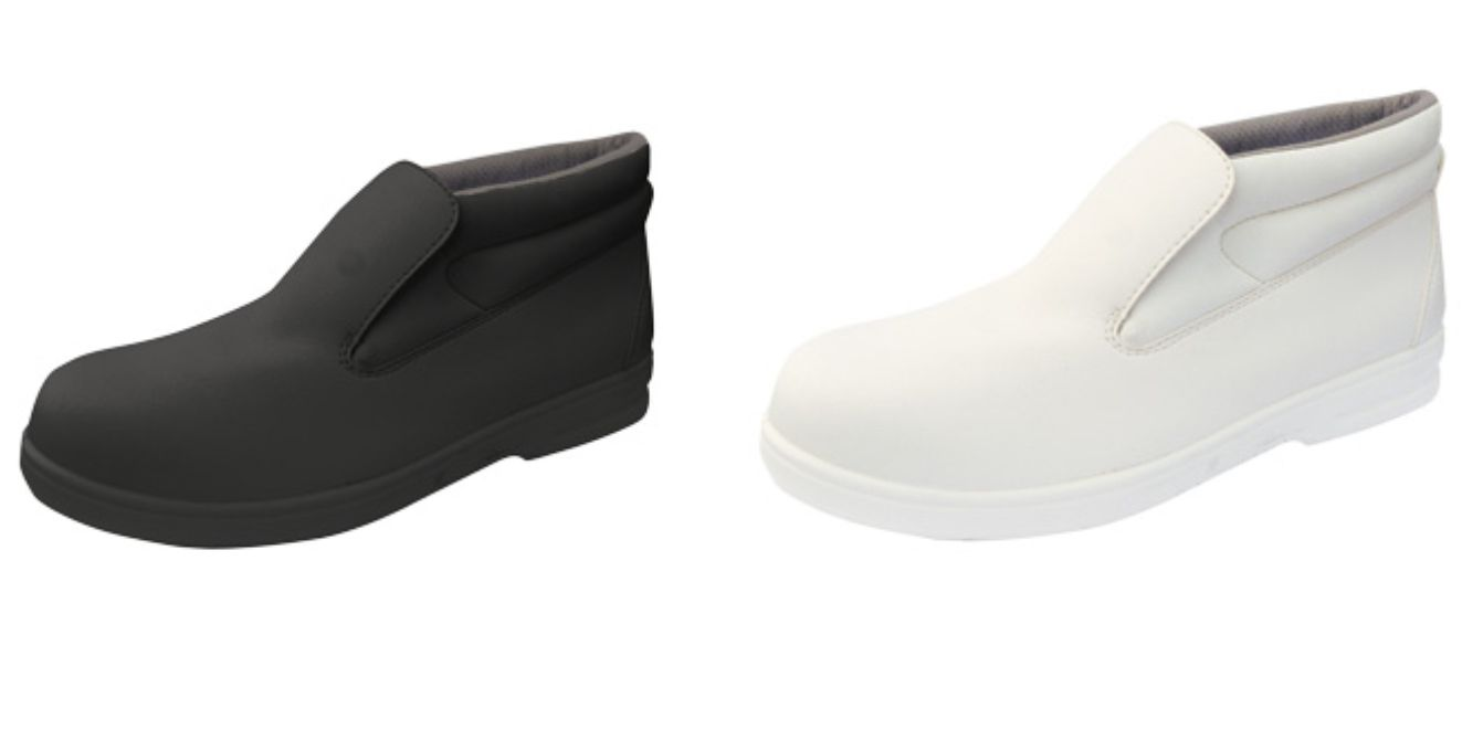 FW83 S2 Microfibre Slip On Safety Boot