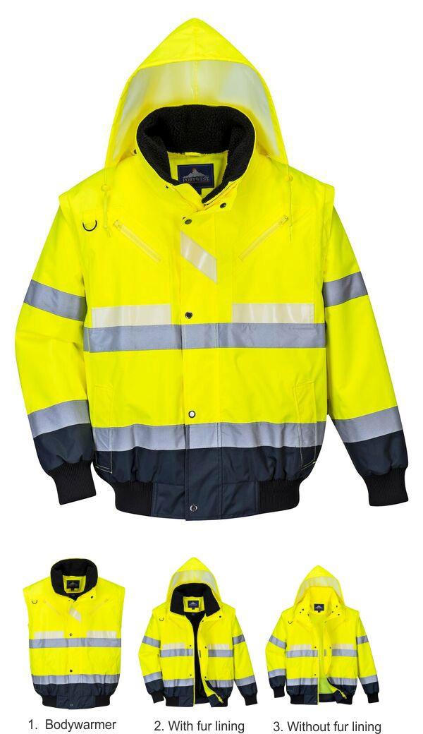 G465 Glowtex 3-in-1 Jacket