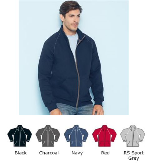 Gildan GD62 Premium Cotton Full Zip Sweat Jacket