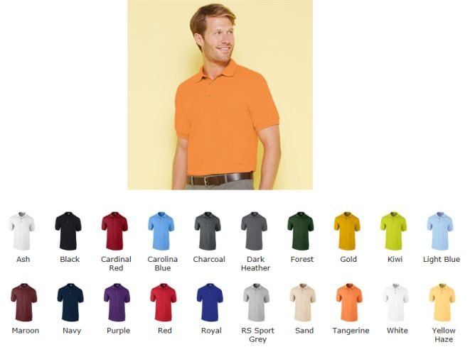 Gildan 3800 GD38 Ultra Cotton Pique Polo