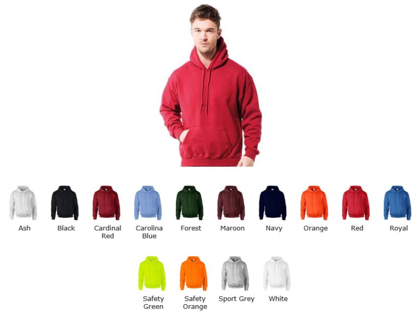 Gildan 12500 GD54 Gildan Ultra blend Hooded Sweatshirt