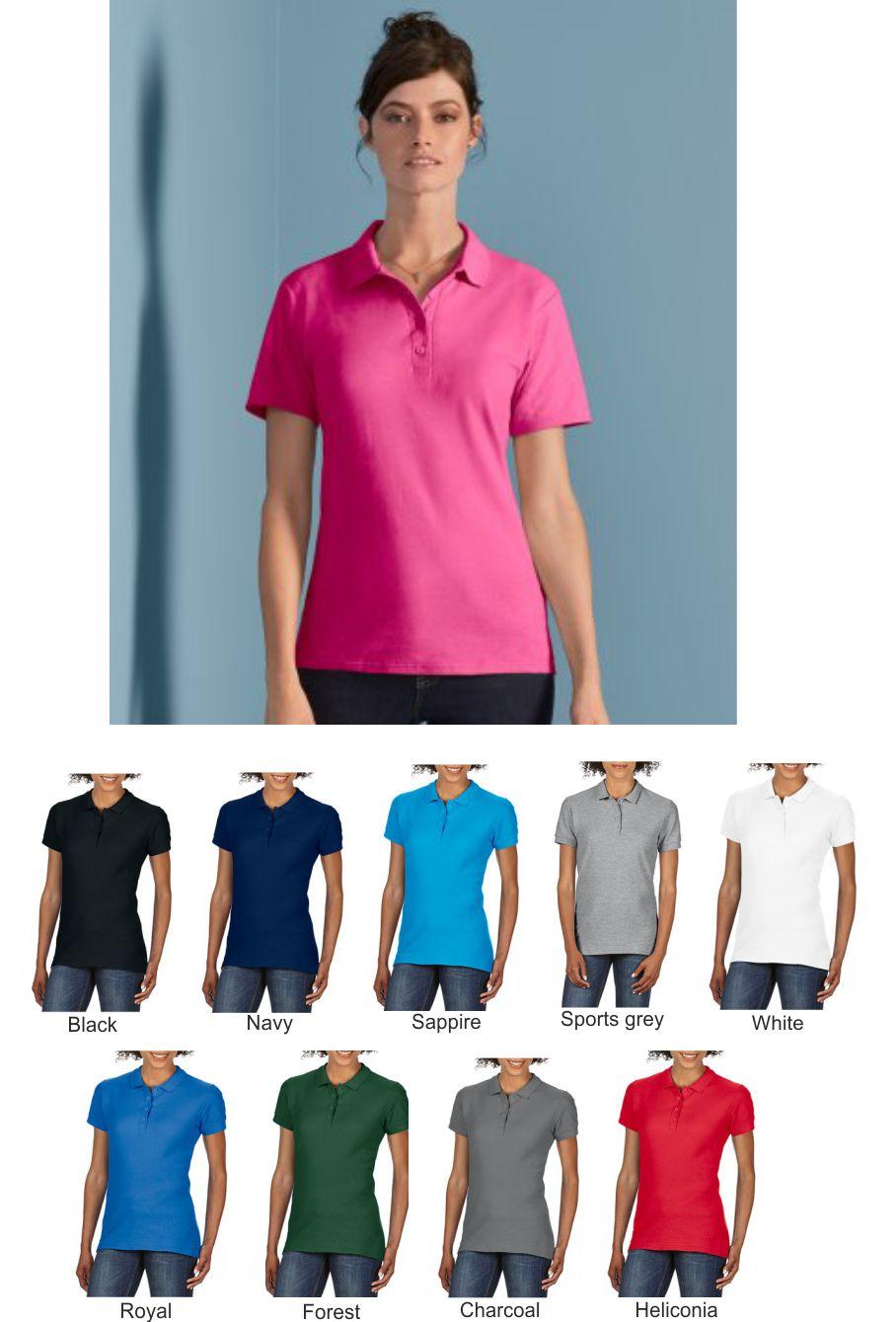 Kids Polo Shirts Boys /& Girls Gildan Jersey Knit Polo School Shirt GD44B