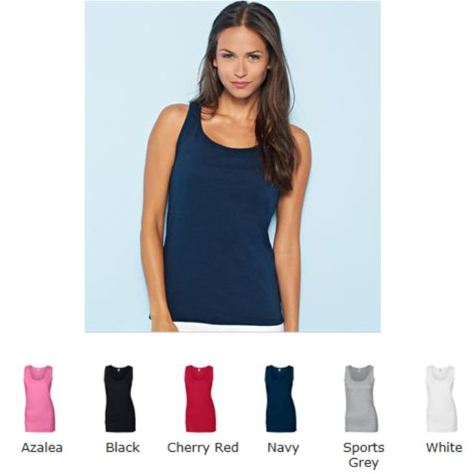 Gildan GD77 Softstyle Ladies Tank Top