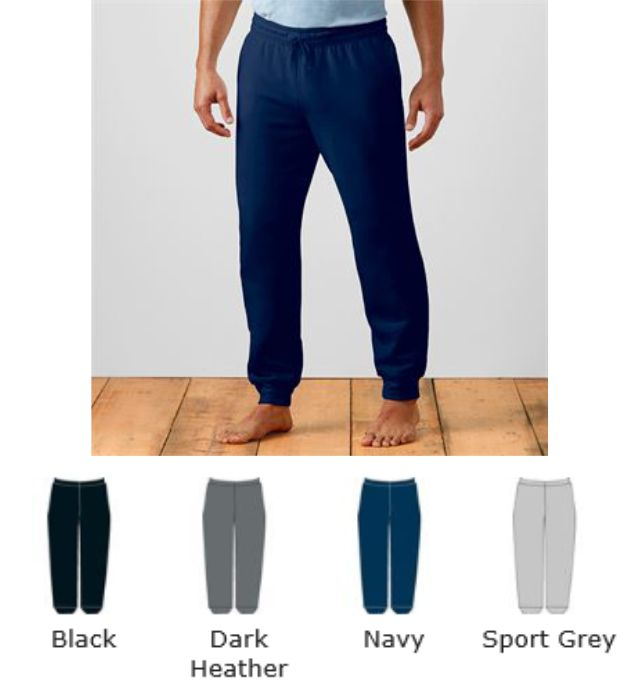 Gildan GD86 Heavy Blend Adult Sweatpants with Cuff