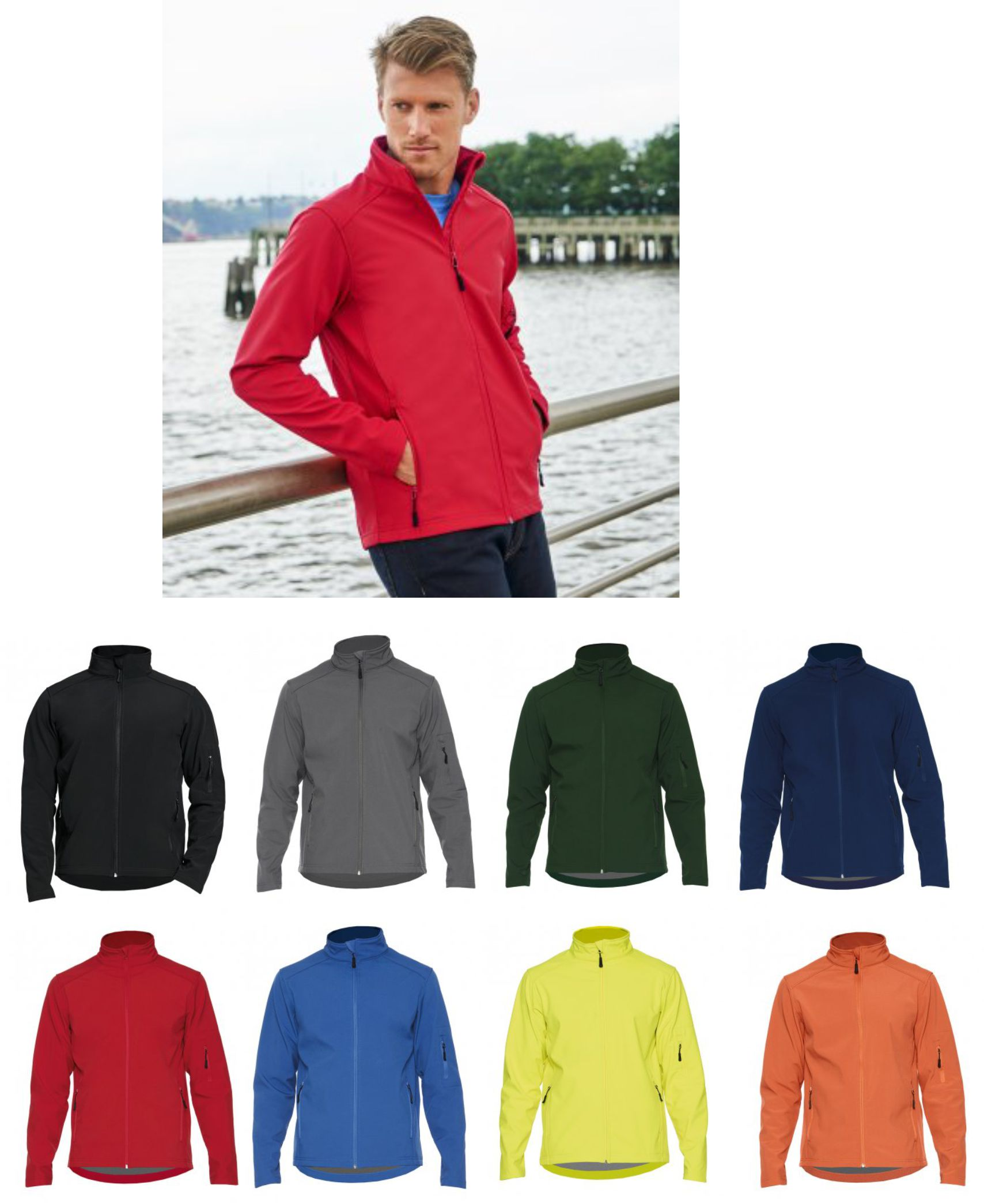 GH114 Gildan Hammer Soft Shell Jacket