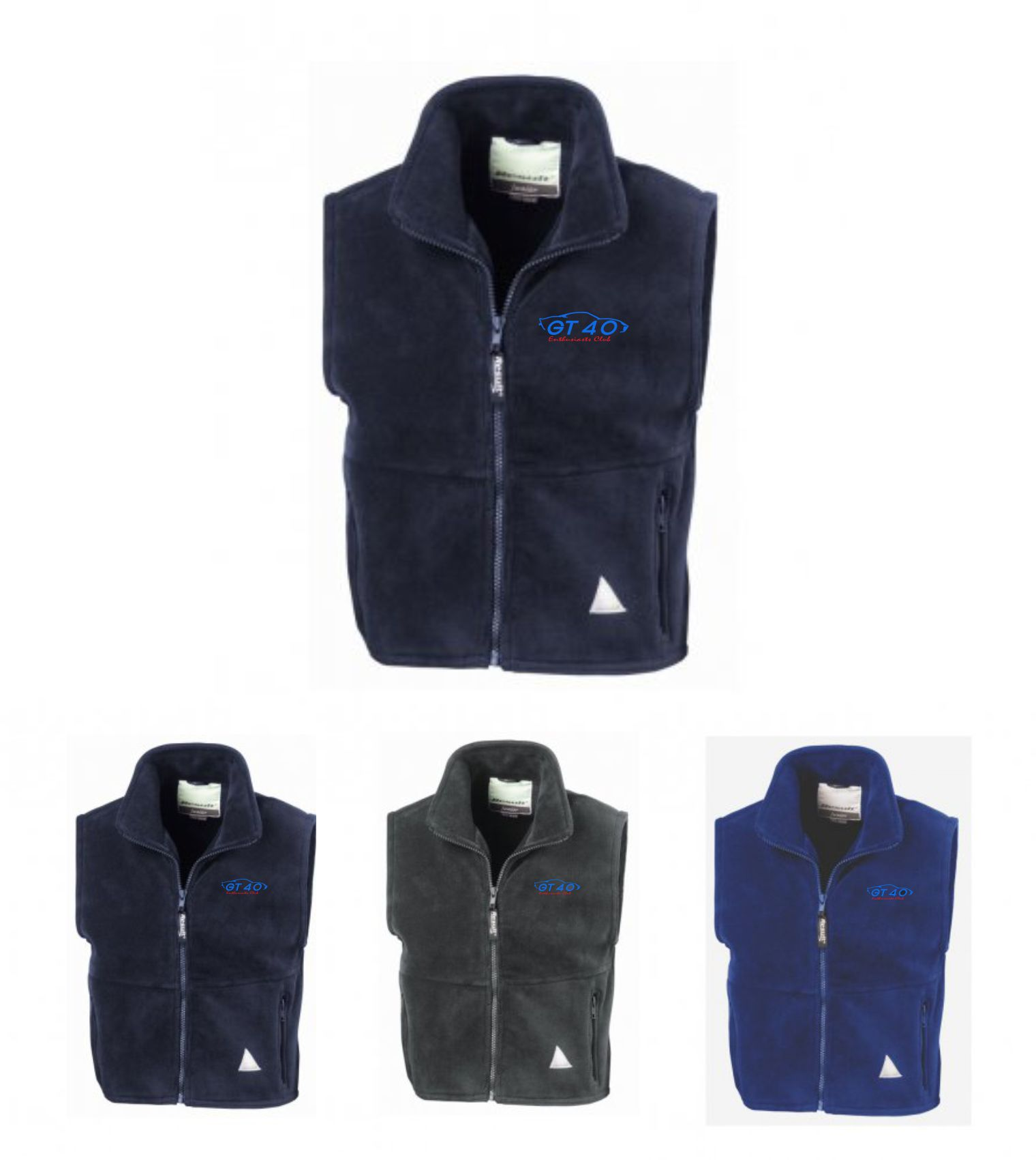 GT40 Enthusiasts Fleece Gilet