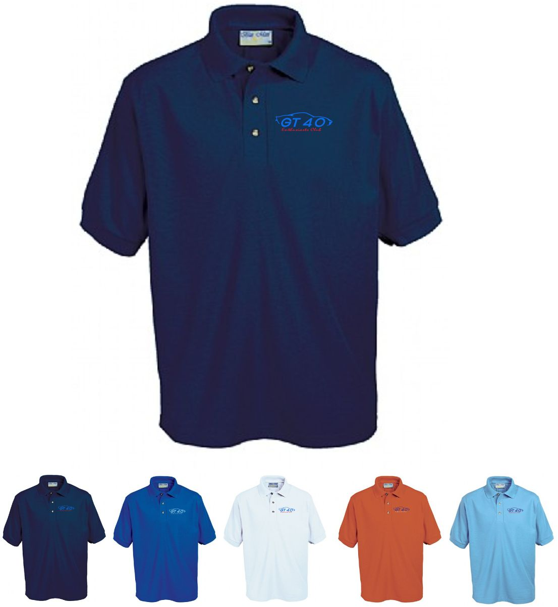 GT40 Enthusiasts Polo Shirt