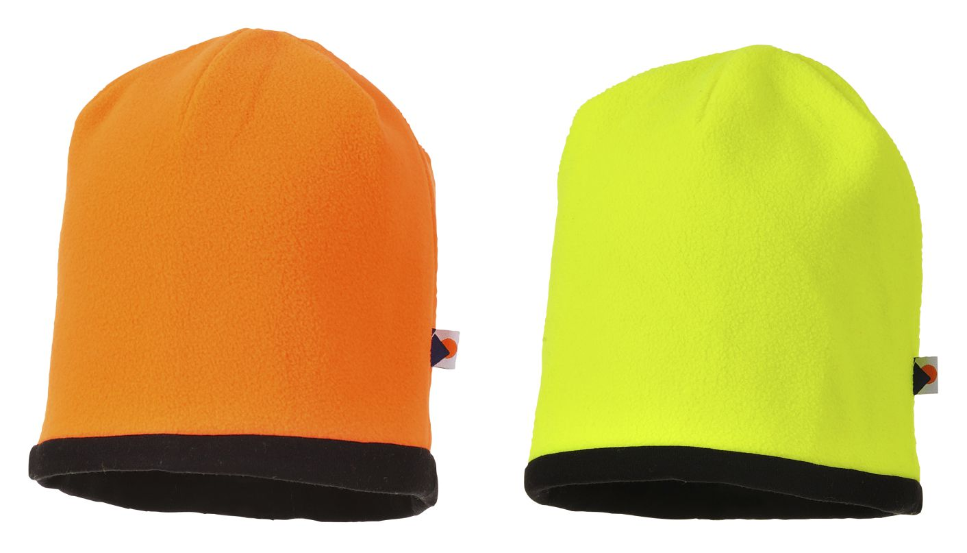 HA14 Reversible Hi-Vis Beanie Hat