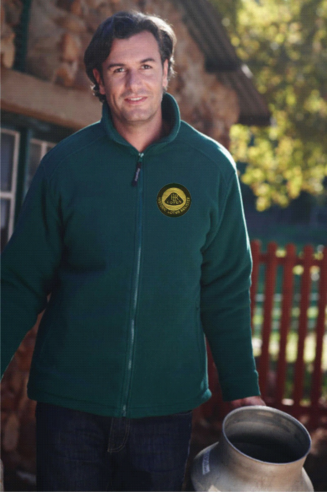 Historic Lotus Register fleece jacket