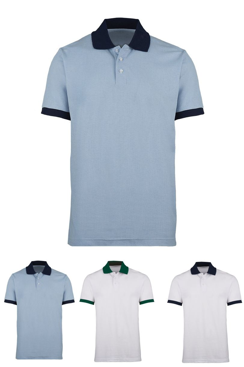HP233 Contrast Polo Shirt