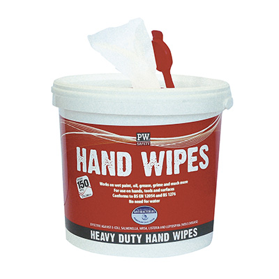 IW10 Portwest Hand Wipes (150 wipes)
