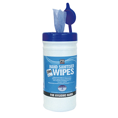 IW40 Portwest Hand Sanitiser Wipes