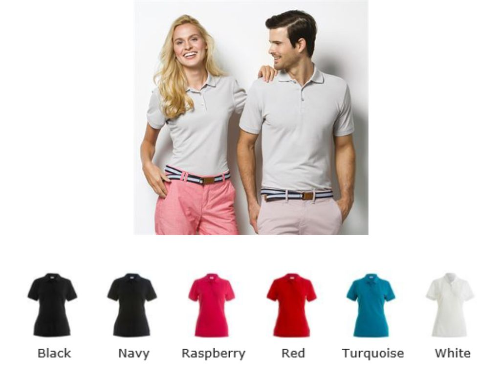 Kustom Kit KK213 Ladies Slim Fit Short Sleeved Polo Shirt