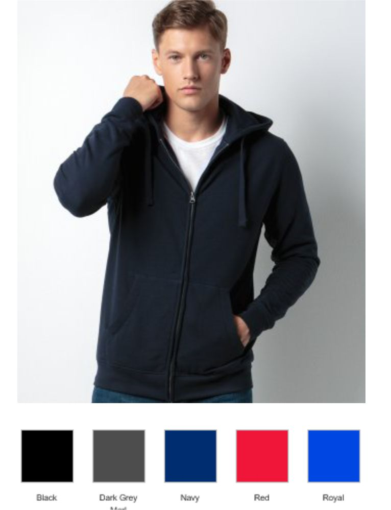 Kustom Kit KK303 Klassic Zip Hooded Sweatshirt
