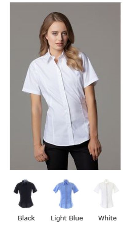 Kustom Kit KK387 Ladies City short sleeve Shirt