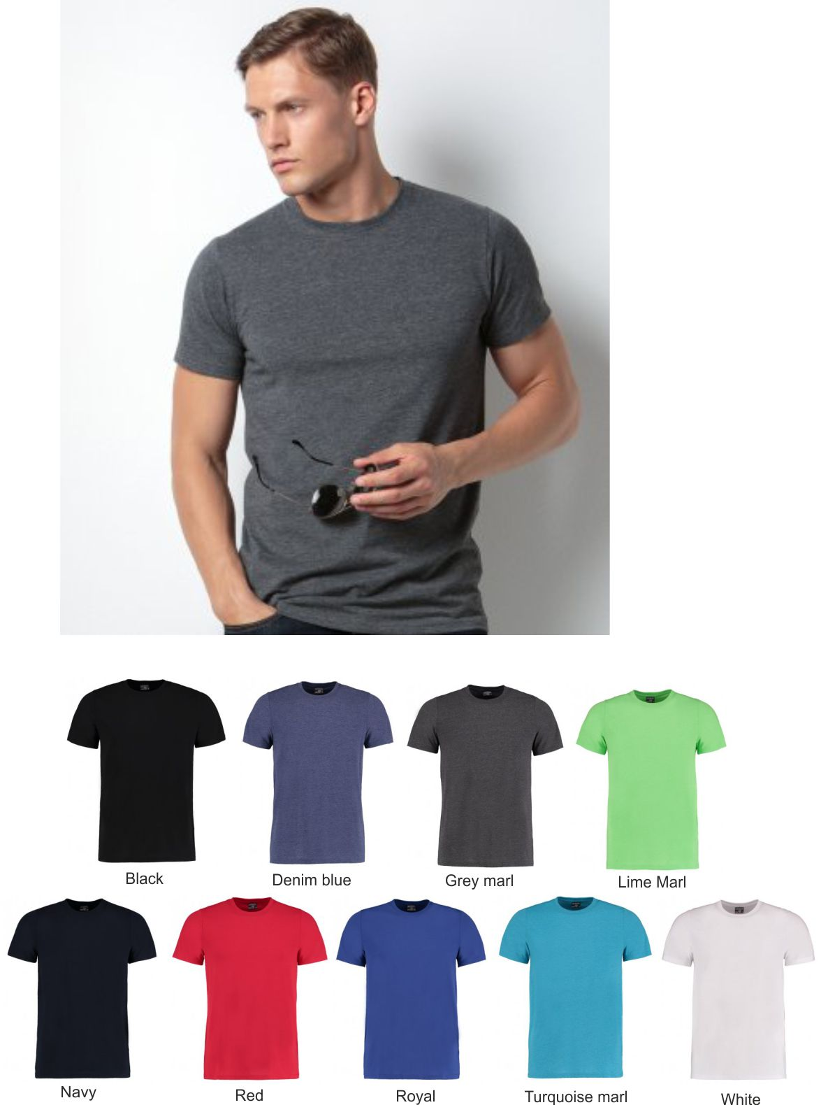 Kustom Kit KK504 Superwash 60 degrees Tee Shirt