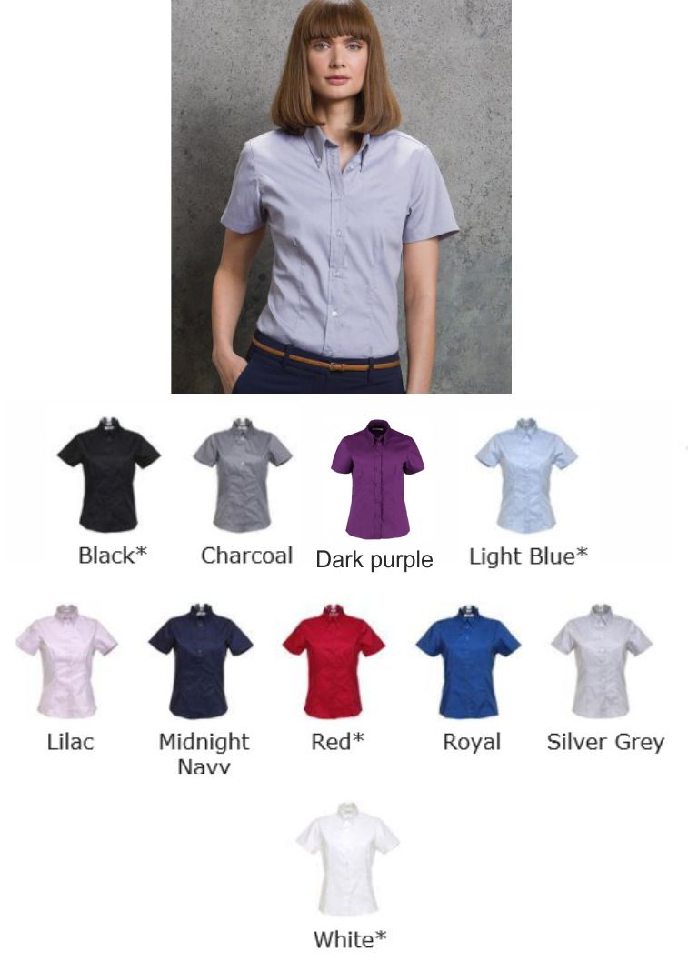 Kustom Kit KK710 Ladies 3/4 sleeve Oxford blouse