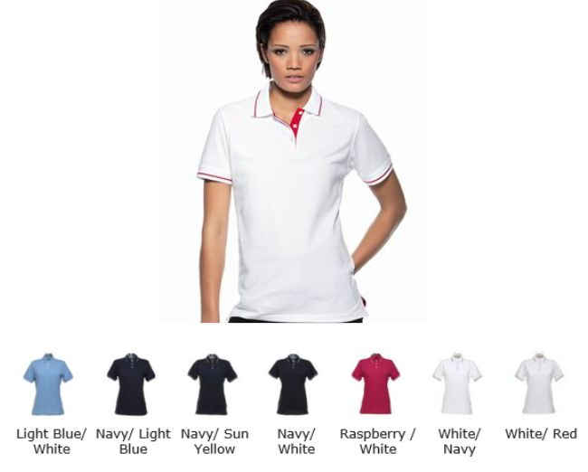 Gamegear KK706 Ladies St Mellion Contrast Tipped Polo