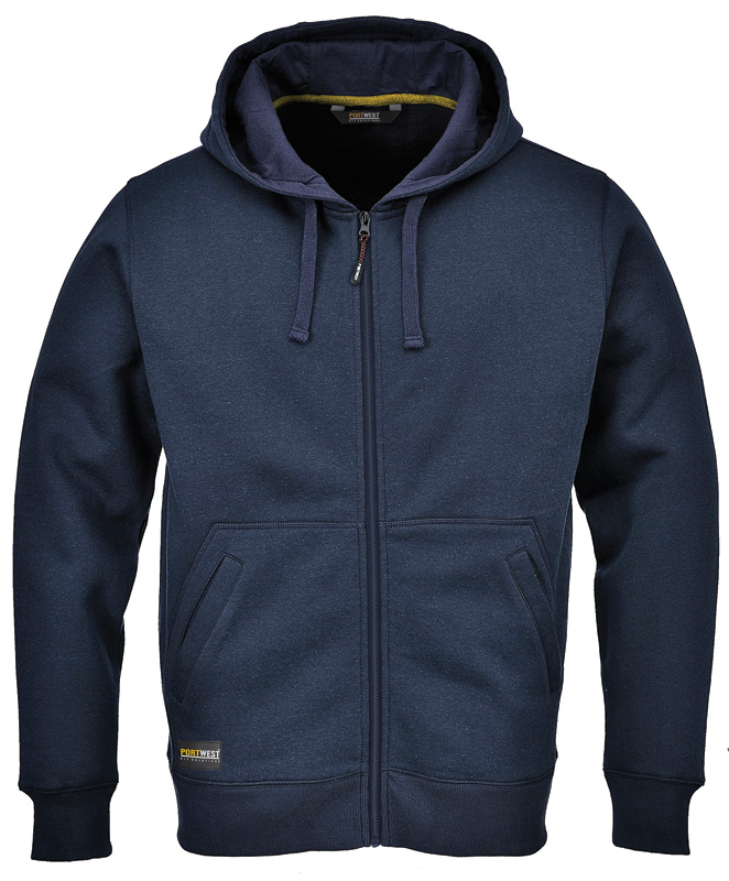 KS31 Nickel Zip Hood Top