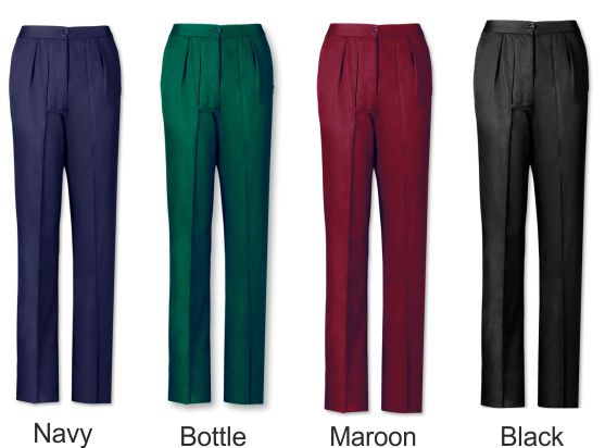 LT200 Women's Twin Pleat Trousers