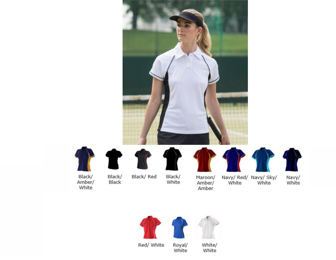 Finden & Hales LV371 Ladies Piped Performance Piped polo