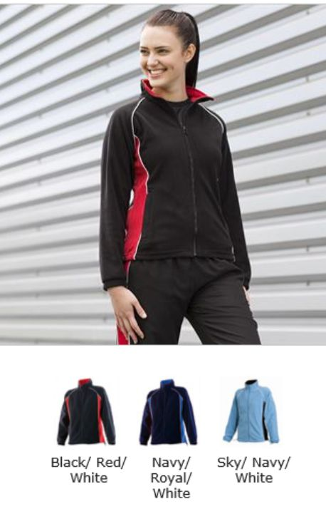 Finden & Hales LV551 Ladies Piped Micro Fleece
