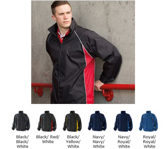 Finden & Hales LV610 Unlined Full Zip Training Jacket