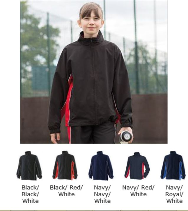 Finden and Hales LV842 Kids Microfibre Track Top