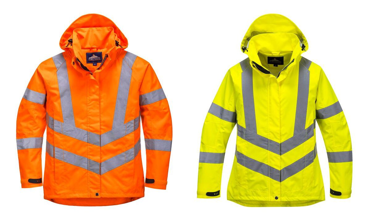 LW70 Ladies Hi Vis Breathable Jacket
